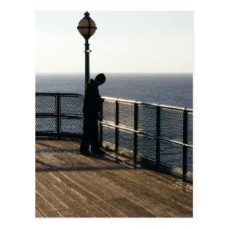 Clevedon Pier Postcard