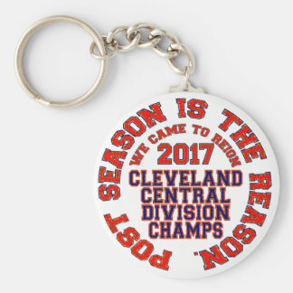 Cleveland 2017 Central Division Champs Key Ring