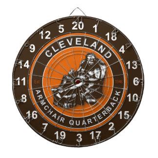 Cleveland Armchair Quarterback Football Dartboard