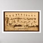 Cleveland Baseball Team 1913 Poster