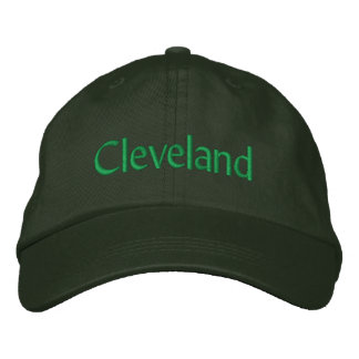 Cleveland Embroidered Hat