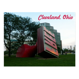 Cleveland (Free Landmark) Postcard
