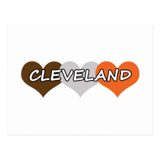 Cleveland Heart Post Card