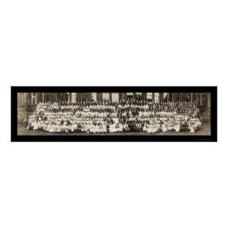 Cleveland High School Photo 1913 Poster