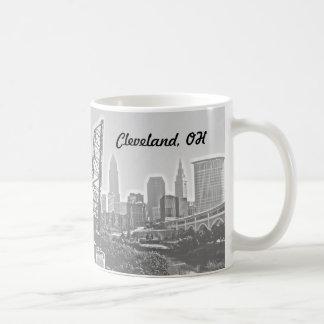 Cleveland Impressions B&W Mug