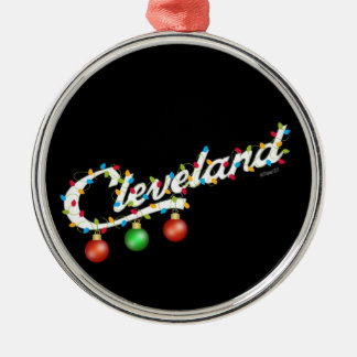 Cleveland in Lights ornament
