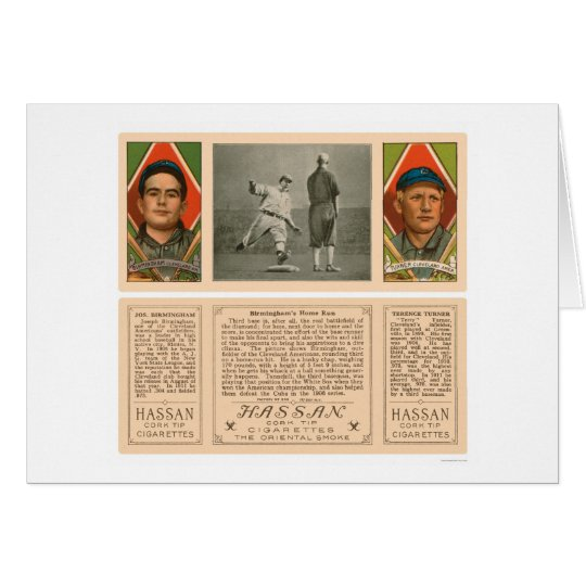 Cleveland Indians Baseball 1912 Greeting Card