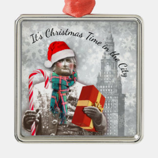 Cleveland: It's Christmas Time in The City Christmas Ornament