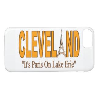 Cleveland, It's Paris On Lake Erie Phone Case