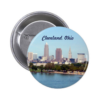 Cleveland (Lake View) 6 Cm Round Badge