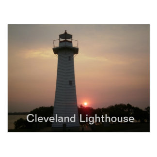 Cleveland Lighthouse Postcard