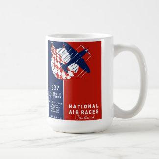 Cleveland Nation Air Races Coffee Mug