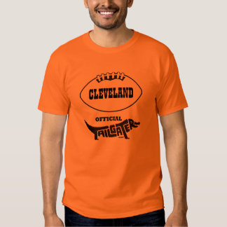 CLEVELAND OFFICIAL TAILGATER TEE SHIRT