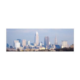 Cleveland OH View Wrapped Canvas Print