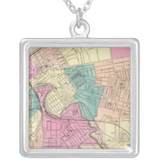 Cleveland, Ohio 2 Silver Plated Necklace