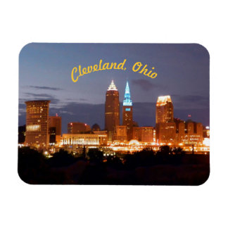 Cleveland Ohio Blues (Curved) Magnet