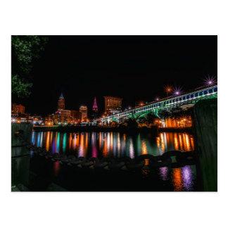 Cleveland, Ohio cityscape, not labeled Postcard