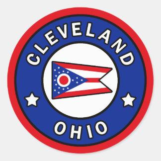 Cleveland Ohio Classic Round Sticker