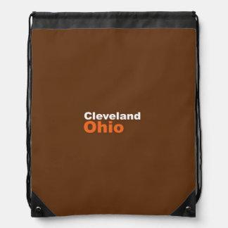 Cleveland, Ohio Drawstring Backpack
