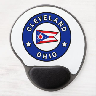 Cleveland Ohio Gel Mouse Mat