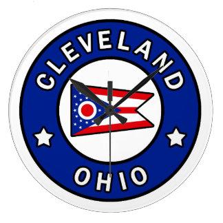 Cleveland Ohio Large Clock