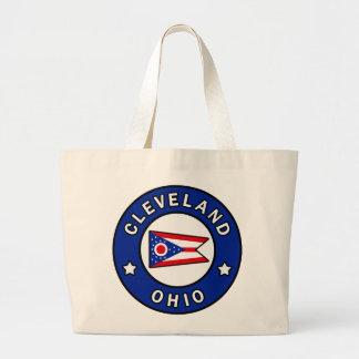 Cleveland Ohio Large Tote Bag