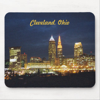 Cleveland, Ohio Night Lights Mousepad