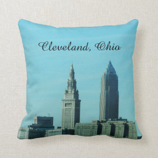CLEVELAND OHIO pillow