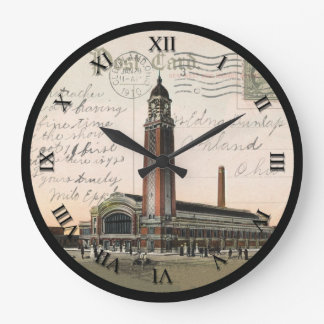 Cleveland Ohio Post Card Clock - West Side Market