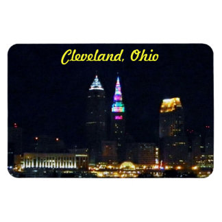 Cleveland, Ohio Rainbow Tower Magnet