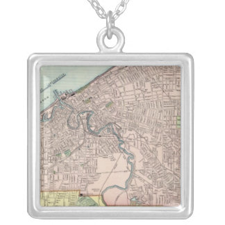Cleveland, Ohio Silver Plated Necklace