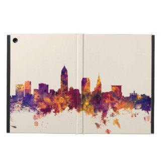 Cleveland Ohio Skyline iPad Air Covers