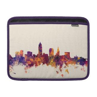 Cleveland Ohio Skyline MacBook Sleeve
