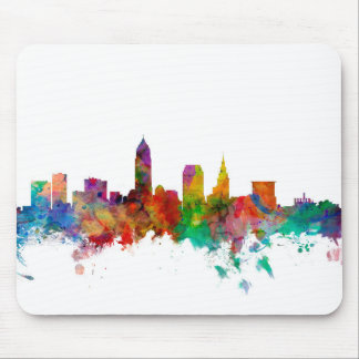 Cleveland Ohio Skyline Mouse Mat
