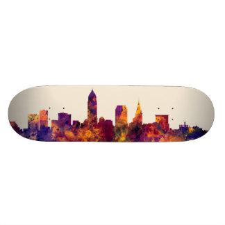 Cleveland Ohio Skyline Skate Boards