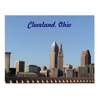 Cleveland, Ohio Summer Postcard