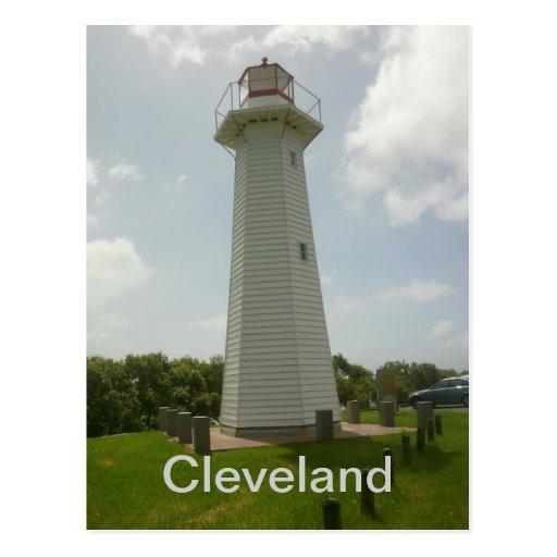 Cleveland Point Lighthouse Postcard