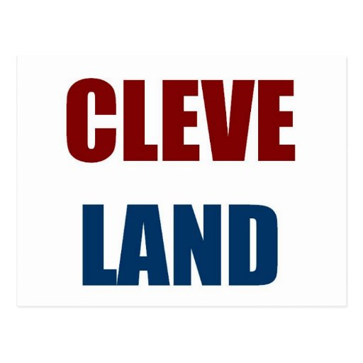 CLEVELAND POST CARDS