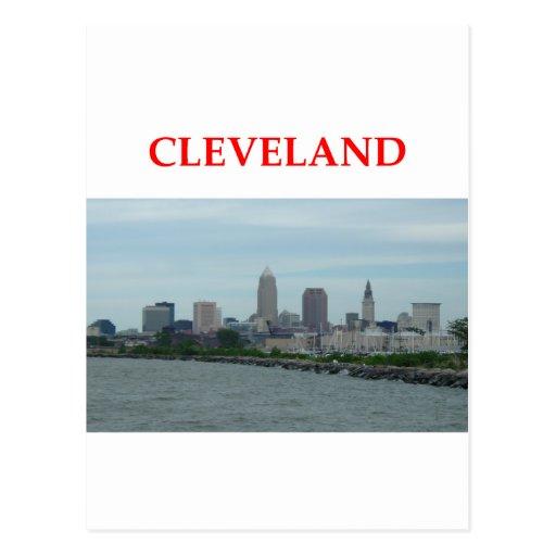 cleveland postcard