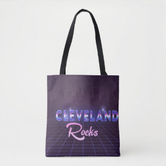 Cleveland Rocks 80's Style All-Over-Print Bag