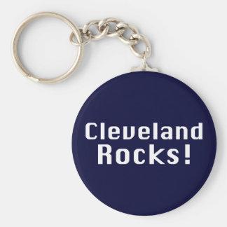 Cleveland Rocks Gifts Basic Round Button Key Ring
