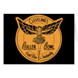 Cleveland Roller Bowl Greeting Card