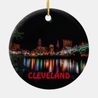 Cleveland Scenic Christmas Ornament