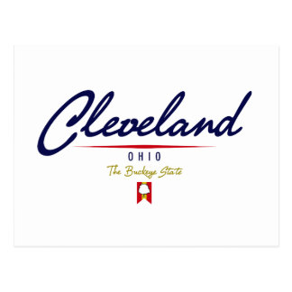 Cleveland Script Postcard