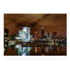 Cleveland Skyline at Night Postcard