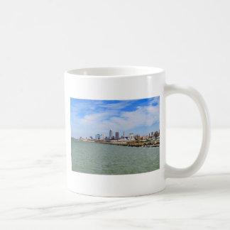 Cleveland Skyline Basic White Mug