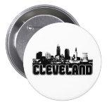 Cleveland Skyline Button