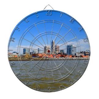 Cleveland Skyline Dart Boards