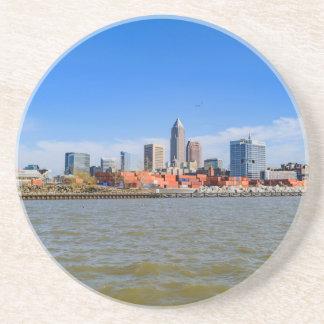 Cleveland Skyline Drink Coaster
