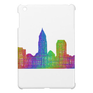 Cleveland skyline cover for the iPad mini